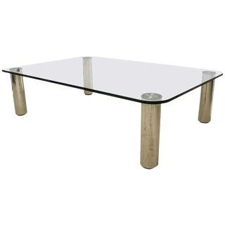 """Marcuso"" Coffee Table by Marco Zanuso for Zanotta For Sale"