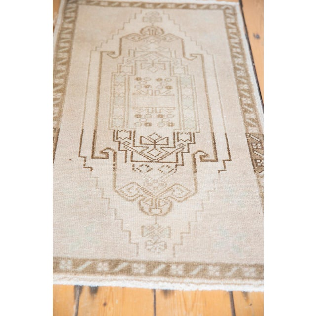 """Vintage Distressed Oushak Rug - 1'10"""" X 3'3"""" For Sale In New York - Image 6 of 7"""