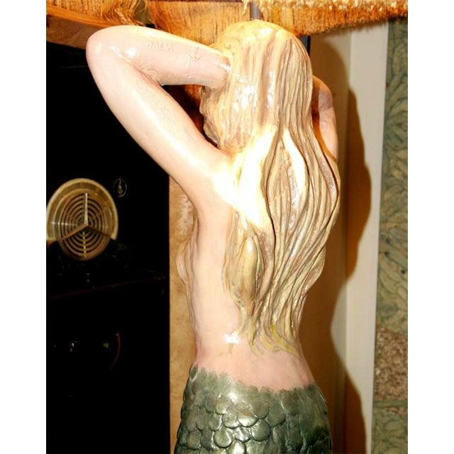 Mermaid Masthead Standing Lamp - Image 5 of 7