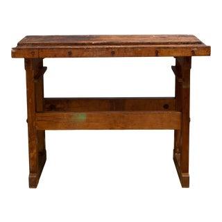 Antique American Carpenter's Workbench C.1910-1930 For Sale