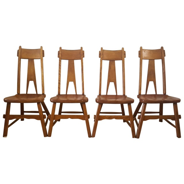 Sikes Furniture Chairs From 1939 - Set of 4 - Image 1 of 10