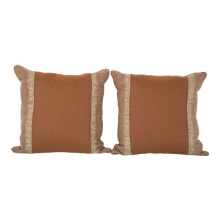 1980s Fortuny Pillows - A Pair For Sale