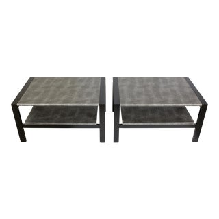 Mid-Century Side Tables - A Pair