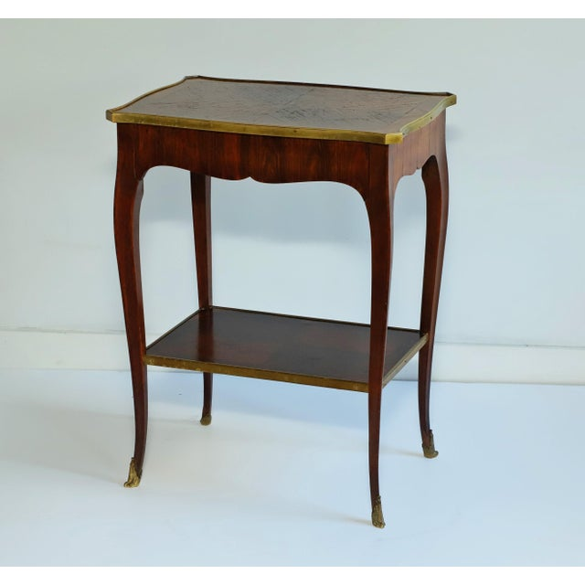 Early 20th Century Jacques Bodart Inc. Satinwood Occasional Table From Waldorf Astoria For Sale - Image 12 of 12