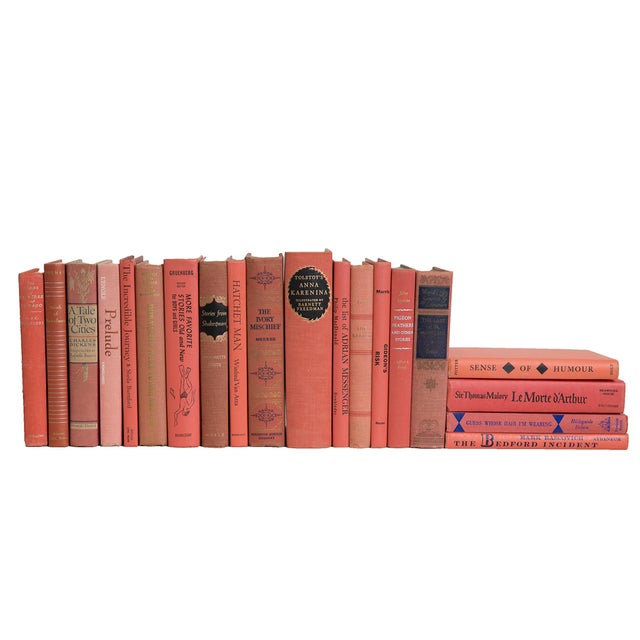 Traditional Coral Classic MIX Book Set, (S/20) For Sale - Image 3 of 3