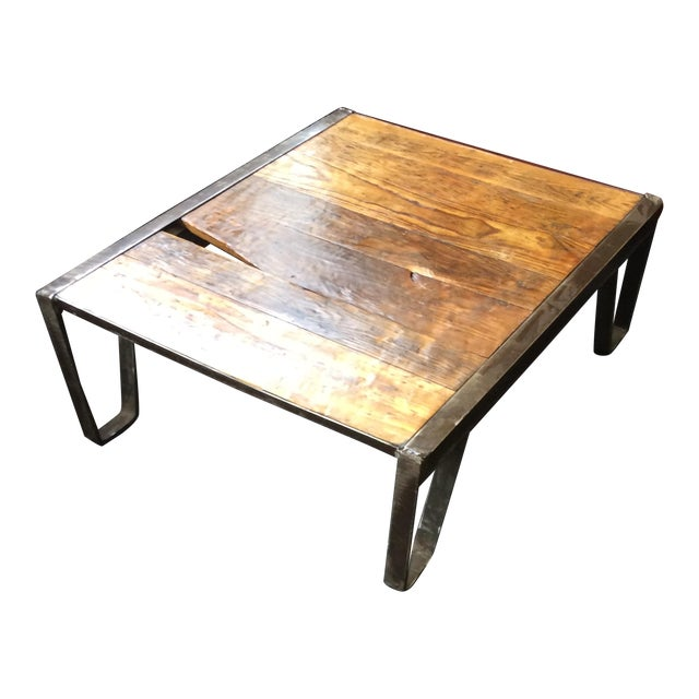 Industrial Pallet Table - Image 1 of 7