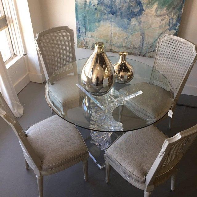 1960s Vintage Henredon Cane Back Dining Chairs-Set of 8 ...
