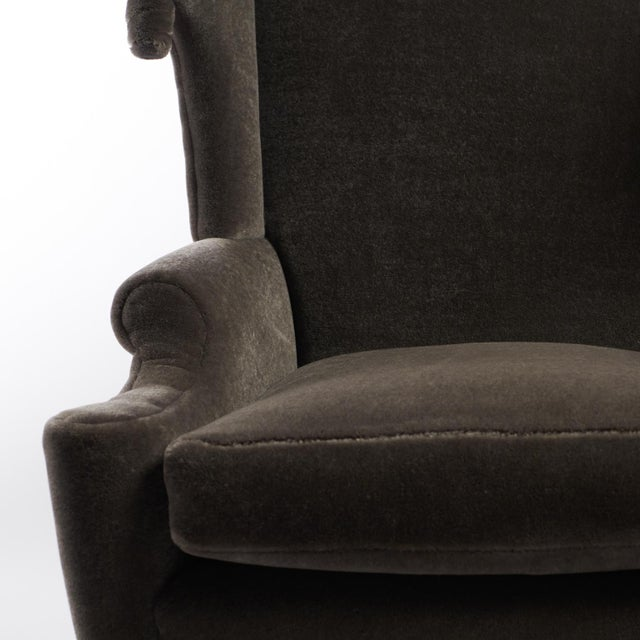 Arturo Pani Wingback Chairs For Sale - Image 12 of 13