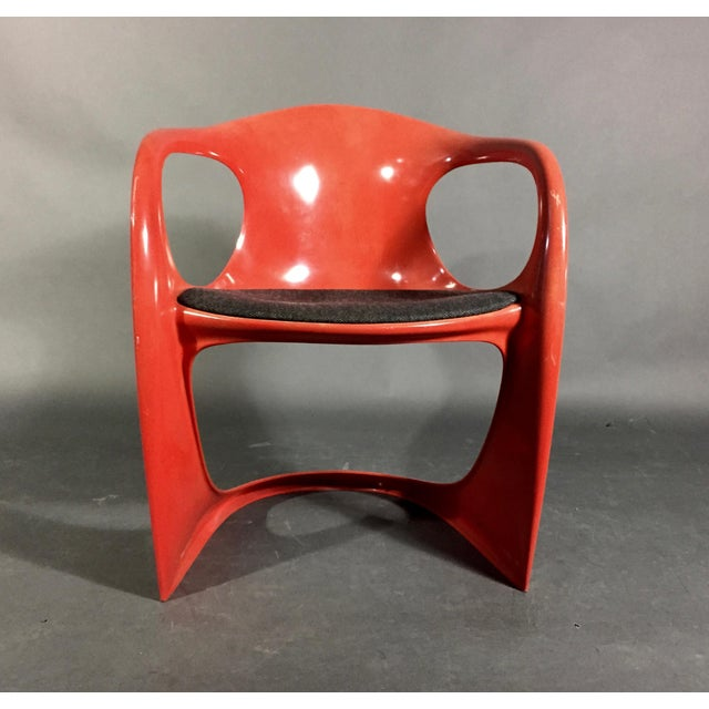 Fabric Alexander Begge Casalino Chair for Casala, 1970s, Germany For Sale - Image 7 of 12