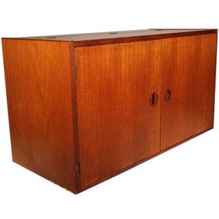 H.G. Furniture Danish Teak Floating Wall Unit For Sale