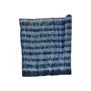Yao Hill Tribe Indigo Batik Textile Fabric