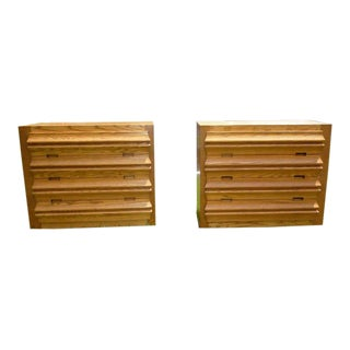 1950s Mid Century Modern Bachelor Chests - a Pair For Sale