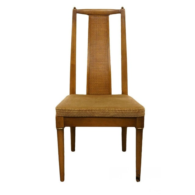 Brown Late 20th Century Vintage American of Martinsville Asian Inspired Dining Chair For Sale - Image 8 of 8