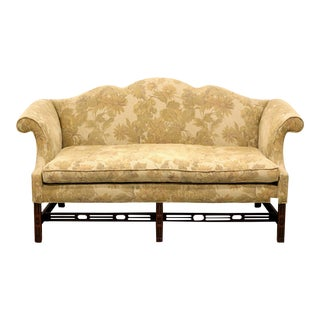 Southwood Camelback Chippendale Style Sofa For Sale