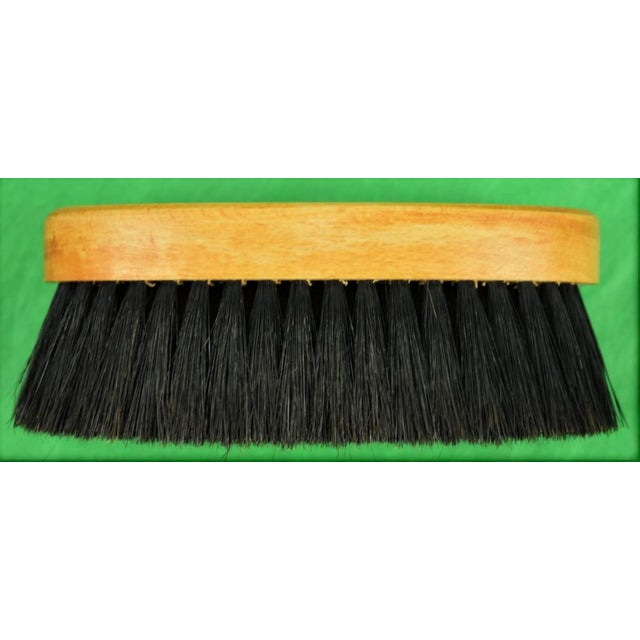 English Traditional Hermes Horse Bristle Brush For Sale - Image 3 of 4