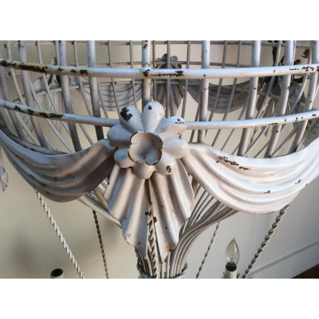 Vintage Hot Air Balloon Chandelier For Sale - Image 4 of 7