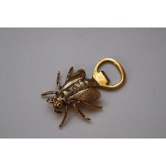 Brass Royal Bee Bottle Opener - Image 2 of 3