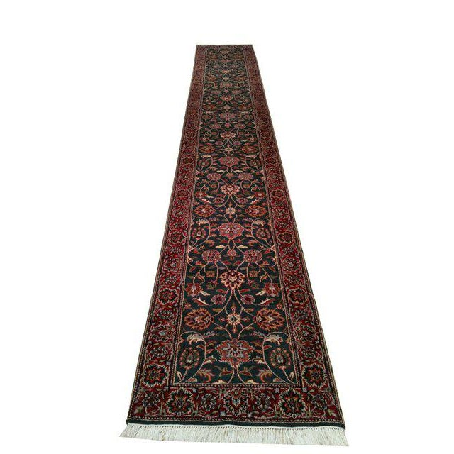 Traditional 16 Ft. Hand Made Knotted Runner Rug - 2′7″ × 16′4″ - Image 2 of 3