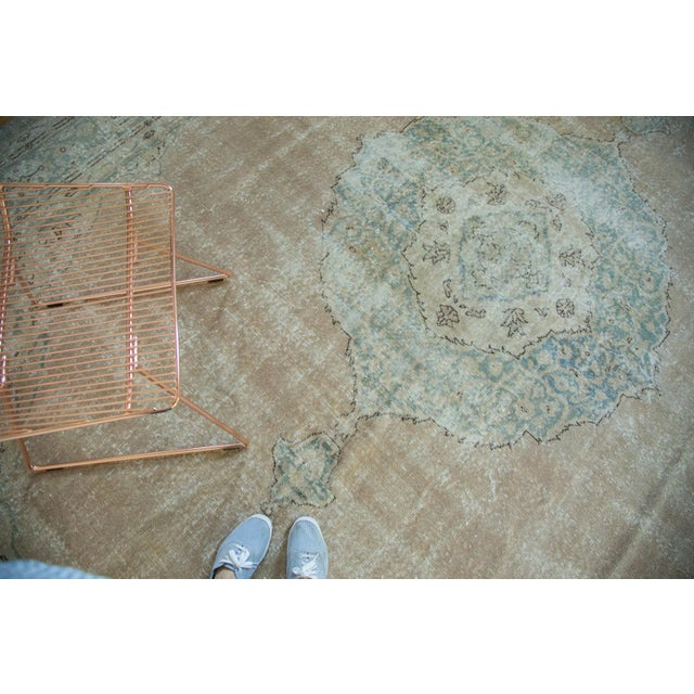 "Vintage Turkish Oushak Carpet - 9'6"" x 13' - Image 5 of 8"
