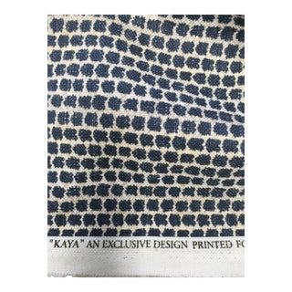 Lee Jofa Kaya Indigo Fabric For Sale