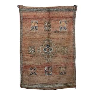 "Boujad Vintage Moroccan Rug, 5'6"" X 7'8"" For Sale"
