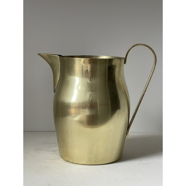 Dorlyn Brass Pitcher by Parzinger For Sale - Image 9 of 9