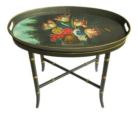 Image of Hollywood Regency Tables