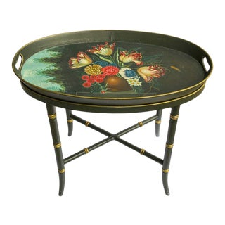 Maitland Smith Fruit Tray Table For Sale