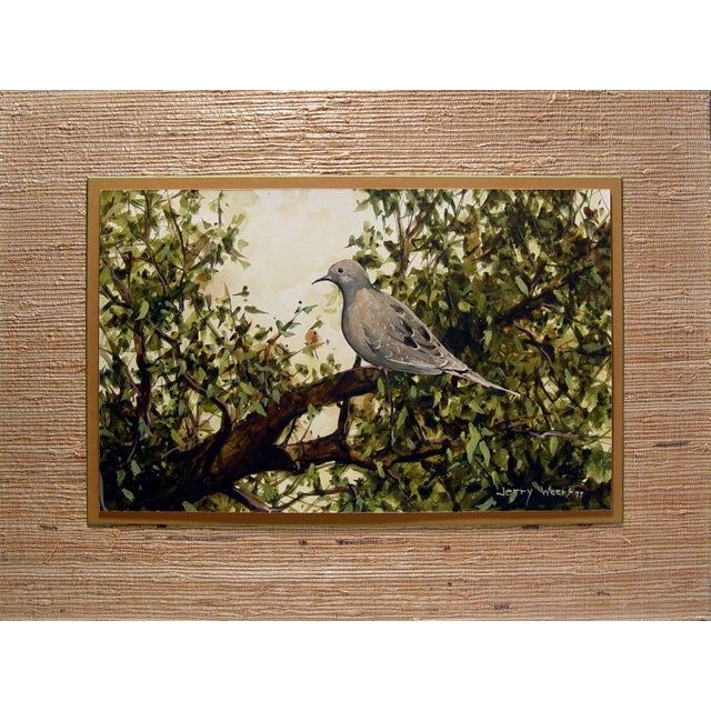 Mourning Dove Painting by Jerry Weers For Sale - Image 4 of 4
