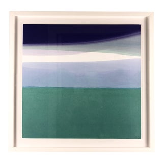 "2010s Abstract Painting, ""Nathaniel Mentioned the Weather Would Be Lovely"" by Wendy Briggs Powell"