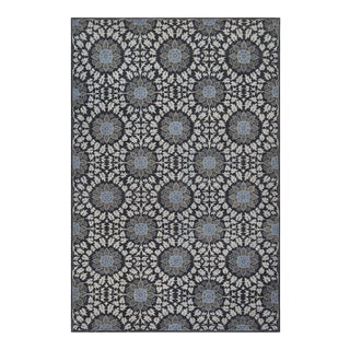 Modern Mansour Genuine Handwoven Deco Rug - 6' X 9' For Sale