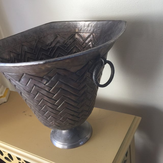 Engraved Metal Vessel Ice Bucket - Image 3 of 10