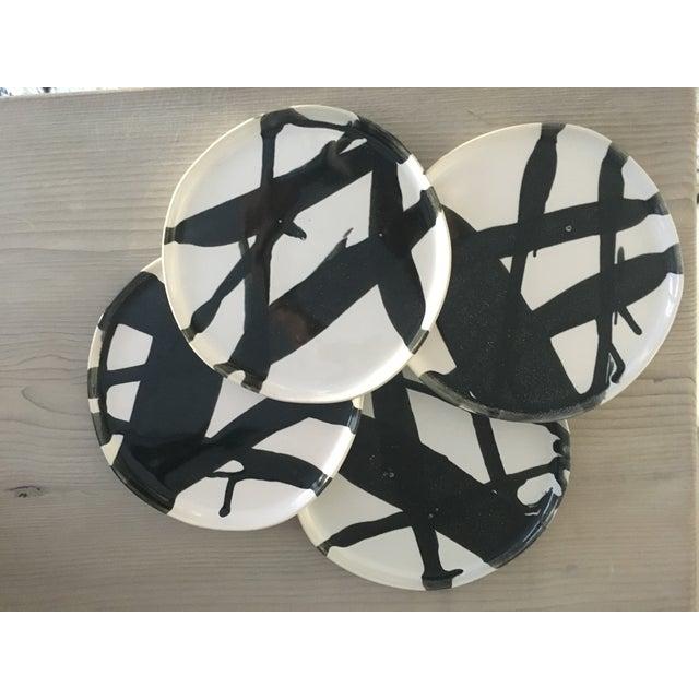 Alex Marshall Pottery Salad Plates - Set of 4 - Image 4 of 6