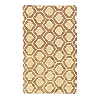 Pasargad Indo Kilim Handspun Wool Rug - 3′ × 5′ For Sale