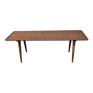 1960s Mid-Cenury Modern Hans Wegner Andreas Tuck Coffee Table For Sale