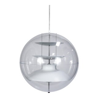 """Verner Panton """"Panto Lamp"""" Hanging Sphere Lights (2 Available) For Sale"""