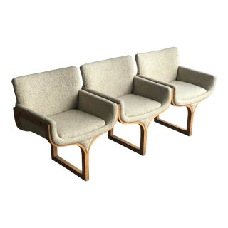 1960s Arthur Umanoff Tandem Seating Bench For Sale
