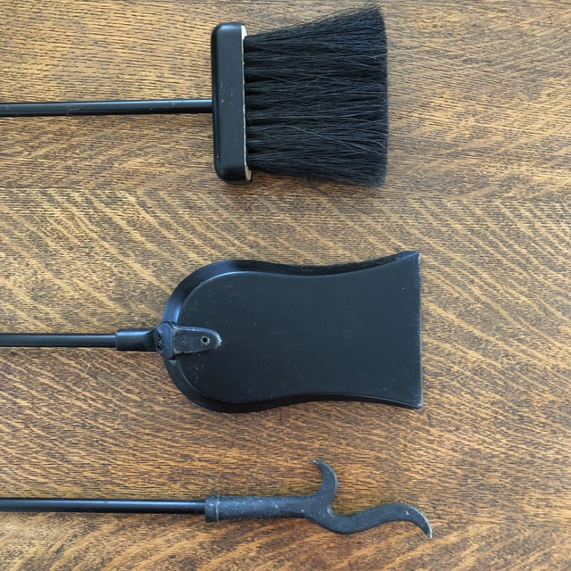 1960s 1960s Mid-Century Modern Fireplace Tools-Set Of 4 For Sale - Image 5 of 10