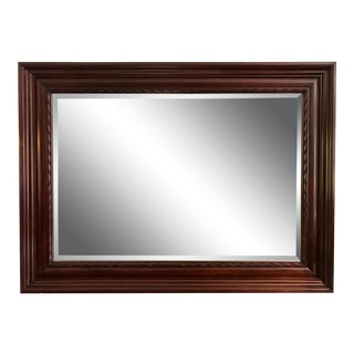 Vintage Henkel Harris Model H-8 Mahogany Mirror For Sale