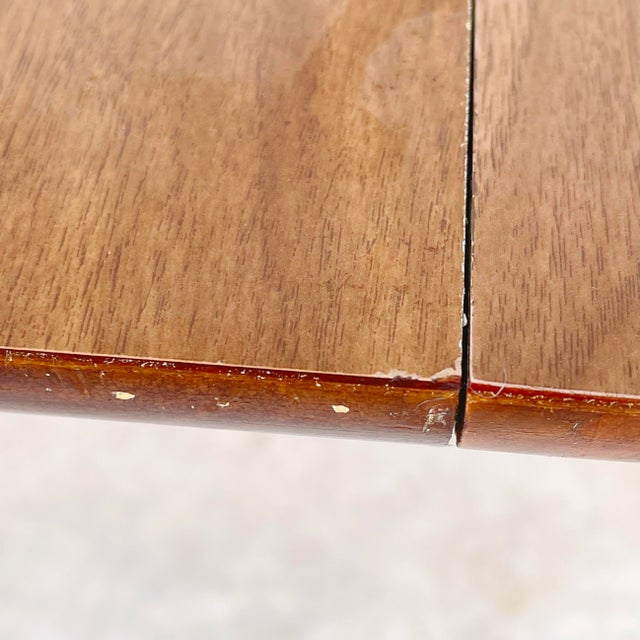 Mid-Century Dining Table With Two Leaves For Sale - Image 12 of 13