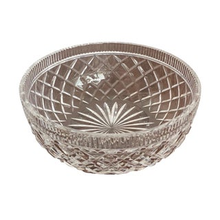 1990's Waterford Crystal Bowl For Sale