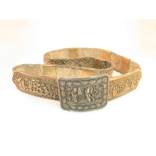Early 19th Century Asian Silver Belt, China 1830s For Sale - Image 13 of 13