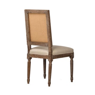 Grey Oak Upholstered Chair Preview