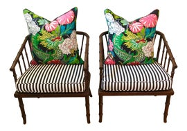 Image of Chinoiserie Tub Chairs
