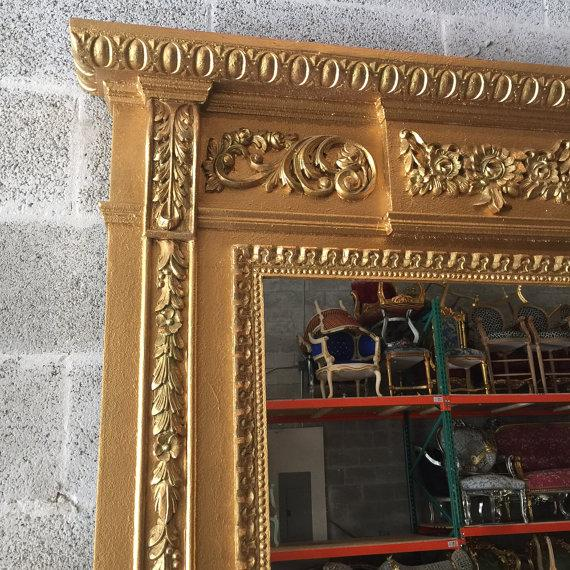 French French Louis XVI Style Mirror For Sale - Image 3 of 6