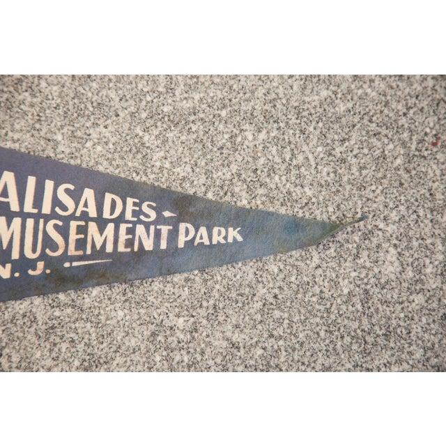 Palisades Amusement Park NJ Felt Flag - Image 3 of 3