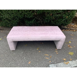 1970s Vintage Directional Waterfall Bench Preview