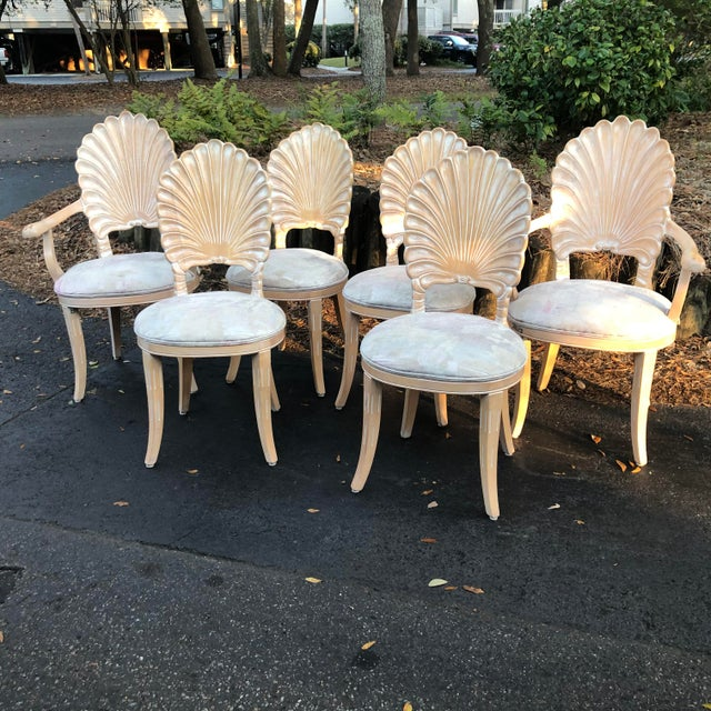 Gorgeous shell back grotto chairs. Super sturdy.