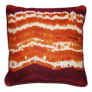 Kim Salmela Modern Orange Pillow