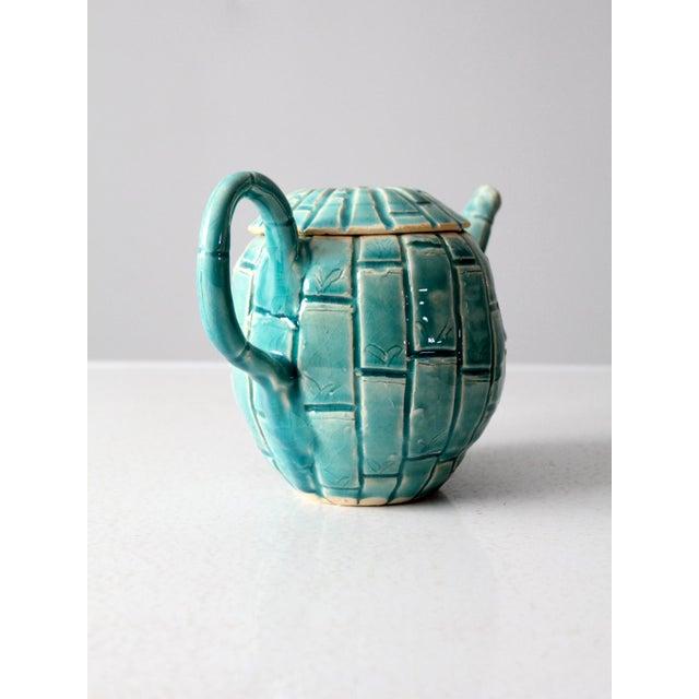 Late 20th Century Vintage Studio Pottery Tea Pot For Sale - Image 5 of 11